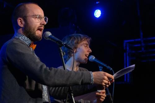 Finn Holitzka und Samuel Kramer Poetry Slammer