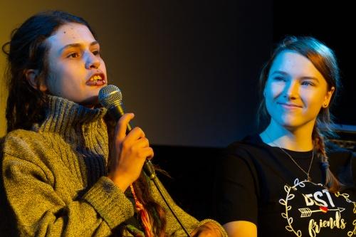 Julia Endres und Carina Fridays for Future