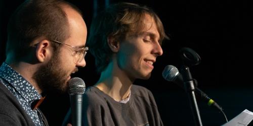 Moderation- Finn Holitzka und Samuel Kramer